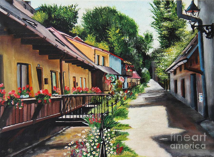 Serenity In Cieszyn - Cieszynska Wenecja Painting