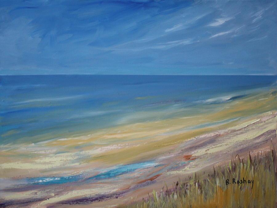Serenity In Seaside Painting By Brigitte Roshay