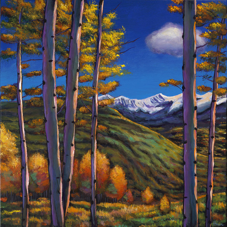 Fall Landscape Painting - Serenity by Johnathan Harris