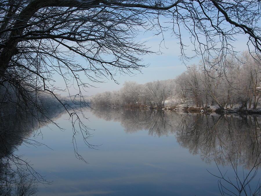 River Photograph - Serenity by Laura Corebello