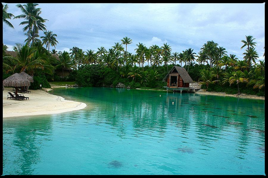 French Polynesia Photograph - Serenity by Nick Difi