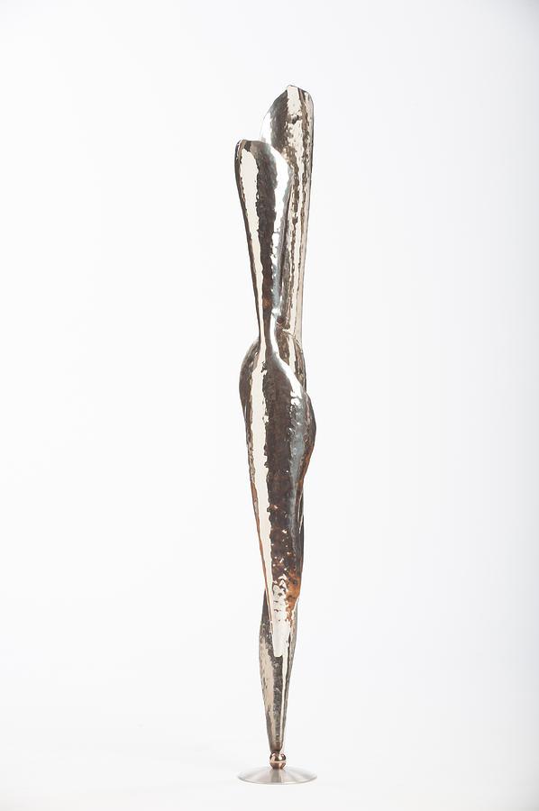 Jon Koehler Sculpture - Serenity Of Two by Jon Koehler