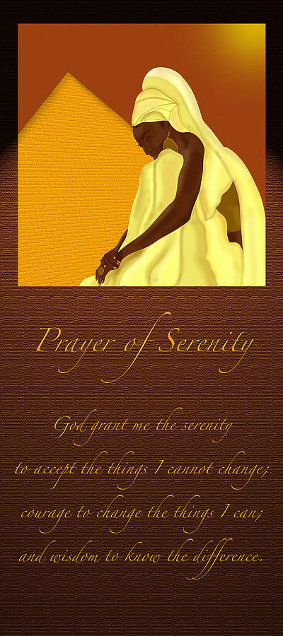 Serenity Prayer by Terry Boykin