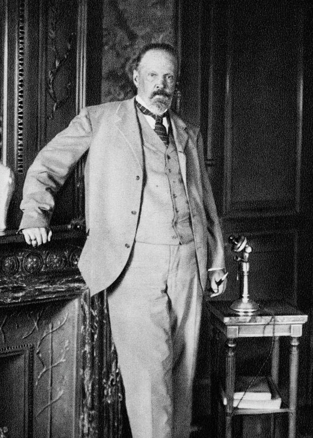 1905 Photograph - Sergey Yulyevich Witte (1849-1915) by Granger
