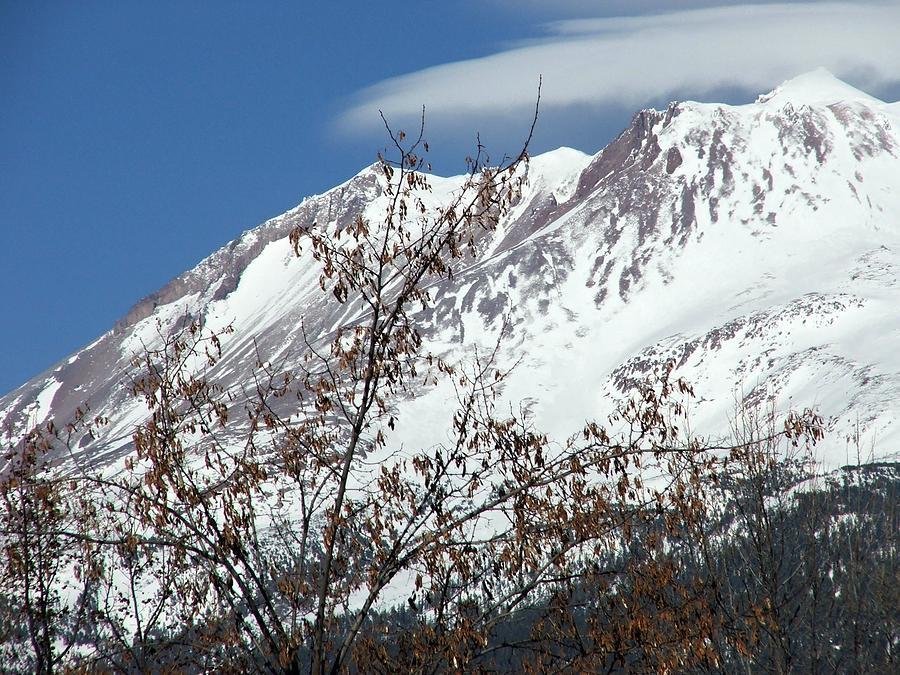 Mt. Shasta Photograph - Serinity by Gary Rathjen