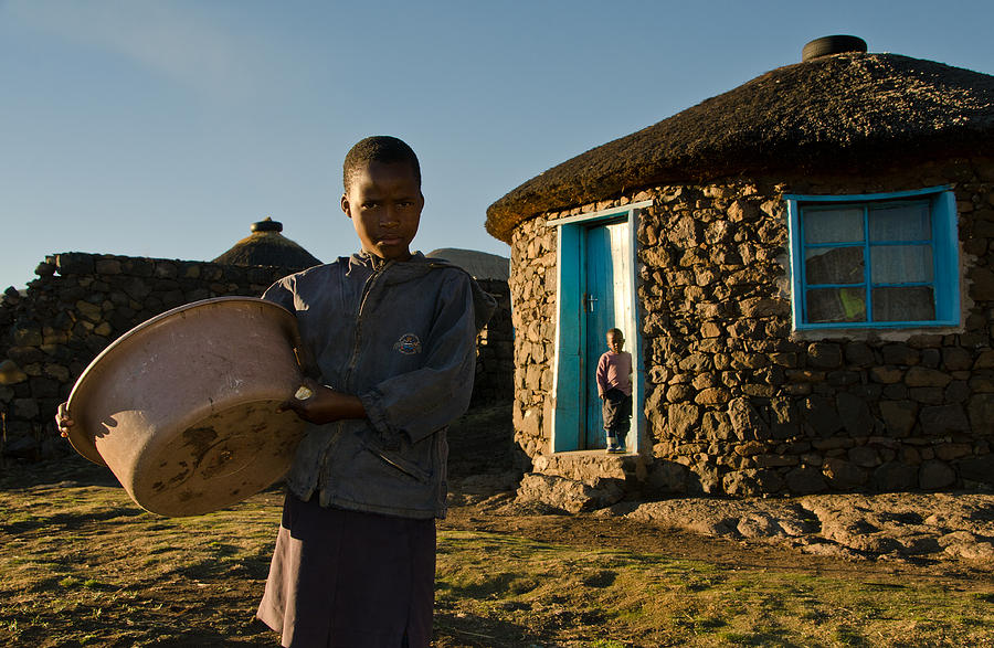 African Photograph - Serious Morning - Landscape by Aaron Bedell