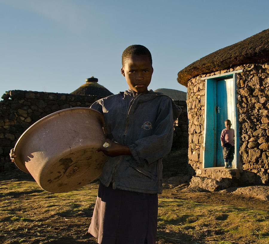 African Photograph - Serious Morning by Aaron Bedell
