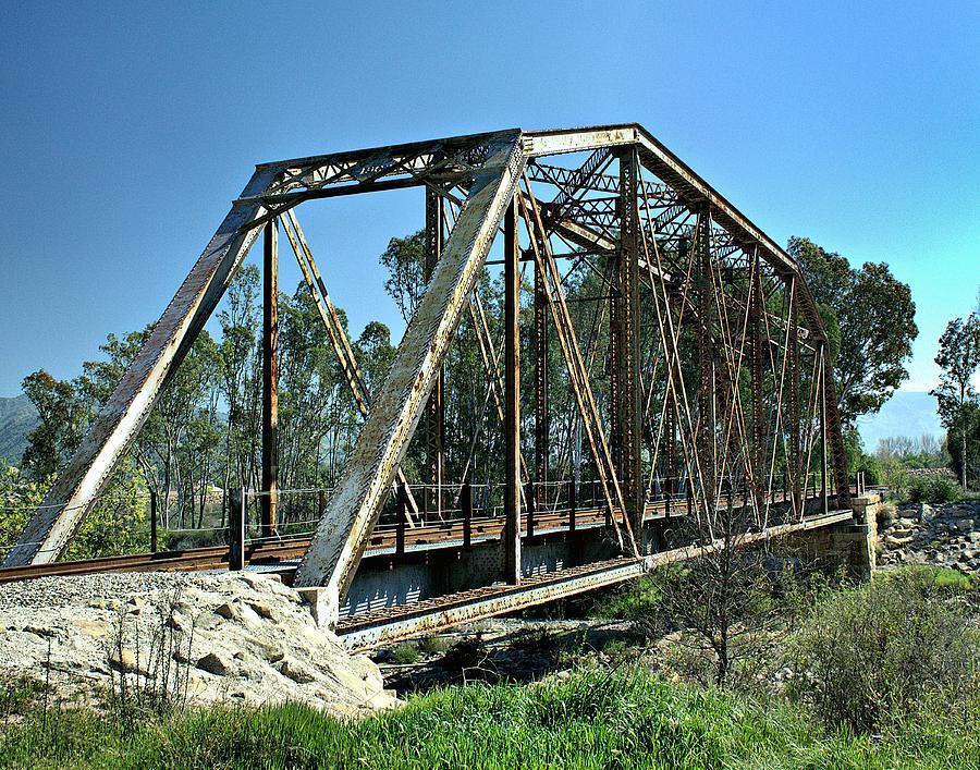 Fillmore Photograph - Sespe Creek Crossing by Michael Gordon