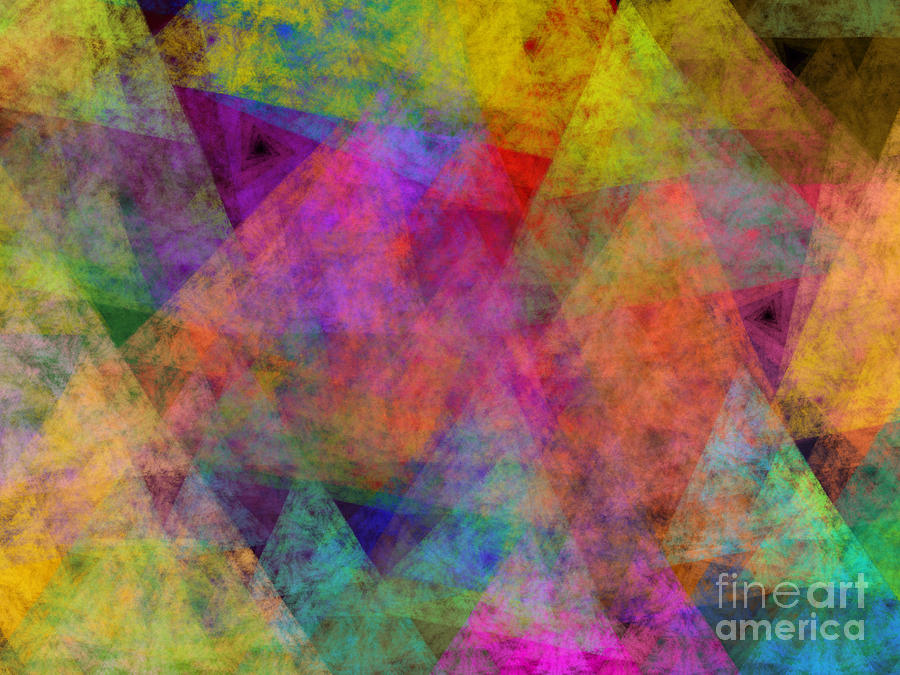 Set Sails On The Open Sea Abstract Digital Art by Andee Design