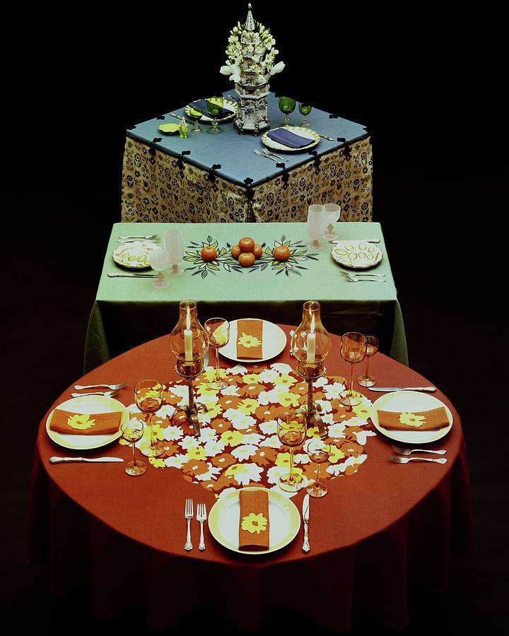 Set Tables Photograph by Fotiades