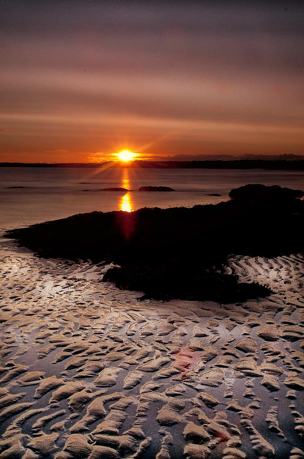 Landscape Photograph - Seton Sunrise by Jean-Noel Nicolas