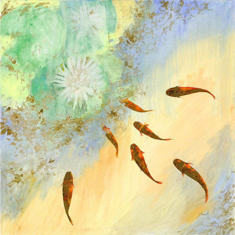 Sette Pesciolini Verdi Painting