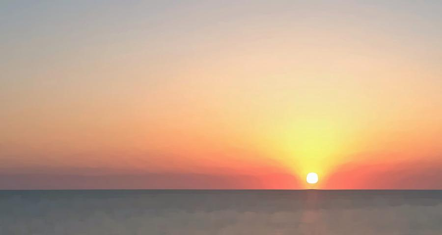 Sunset Photograph - Setting Sun  by Phil Gorham