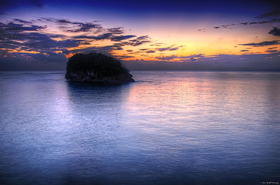 Landscape Photograph - Setting Sun by Ryan Wyckoff