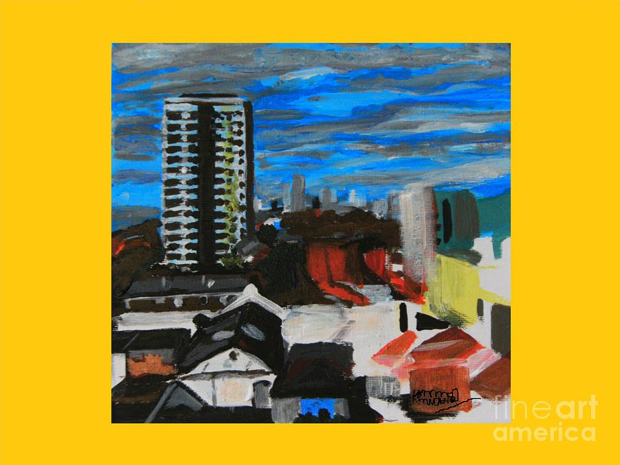Plaistow Painting - Settle Point  - Plaistow East London by Mudiama Kammoh