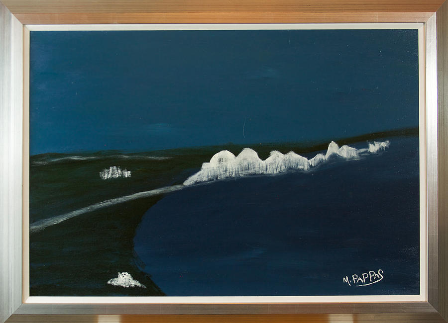 Seven Sisters Painting by Margaret Pappas