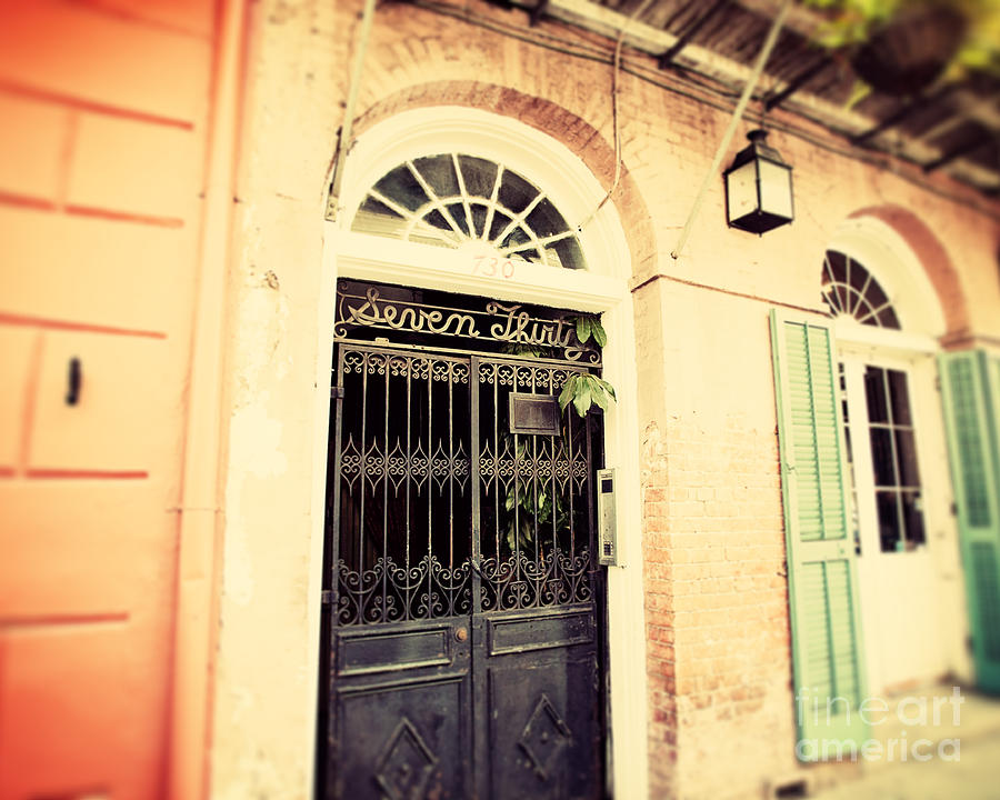 New Orleans Photograph - Seven Thirty by Erin Johnson