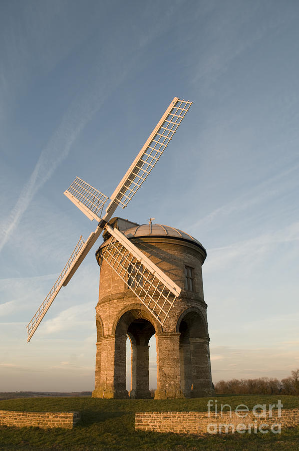 Afternoon Photograph - Seventeenth Century Mill by Anne Gilbert