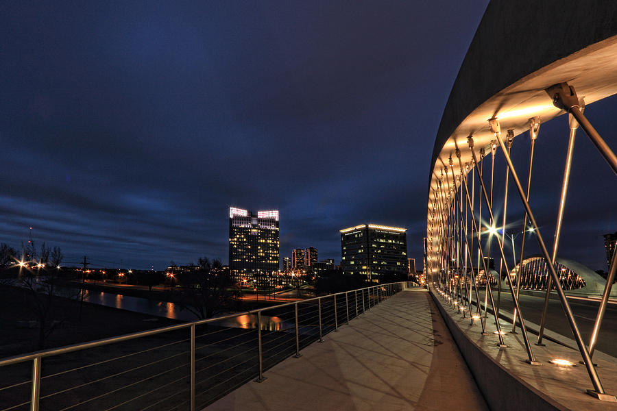 Seventh Avenue Bridge Fort Worth Photograph