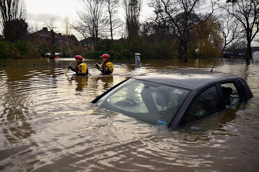 Severe Flooding Affects Northern England Photograph by Jeff J Mitchell
