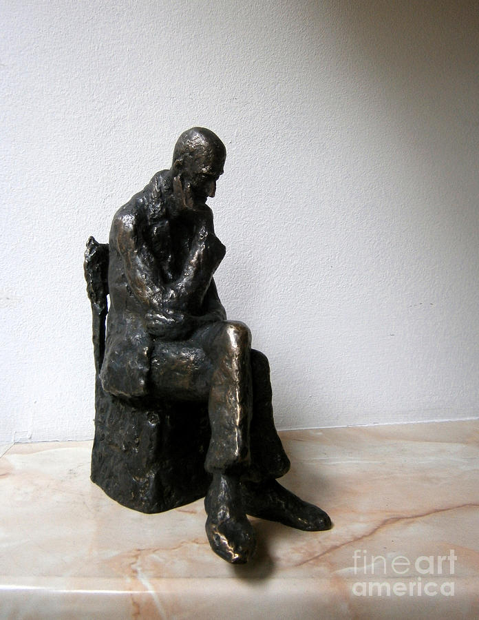 Statue Sculpture - Severe Problem by Nikola Litchkov