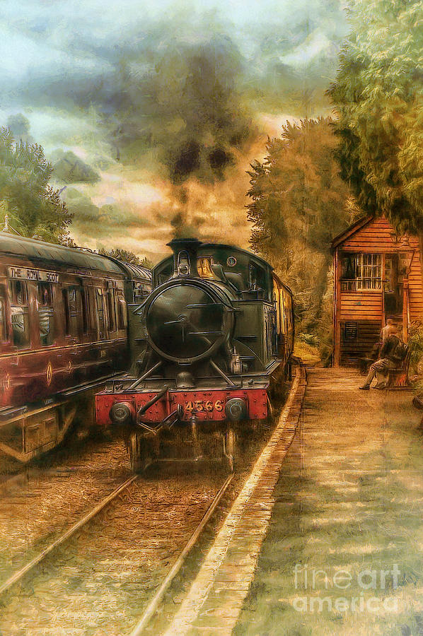 Severn Valley Railway Photograph - Severn Valley Railway by J A Evans