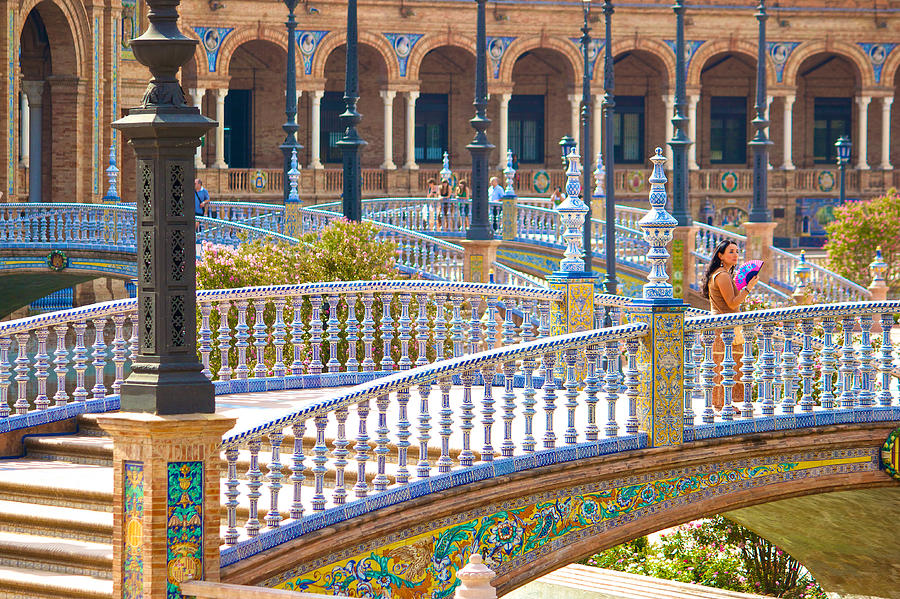 Andalucia Photograph - Sevilla In Spain by Francesco Riccardo  Iacomino