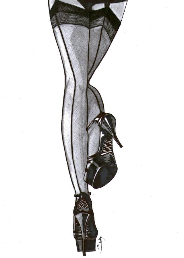 legs drawings Sexy