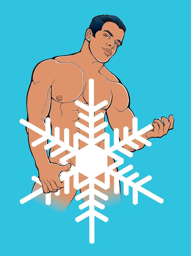 Sexy Snowman B by Steven Stines