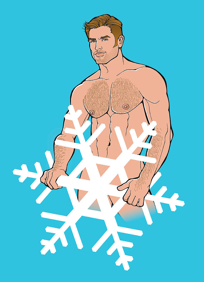 Sexy Snowman C by Steven Stines