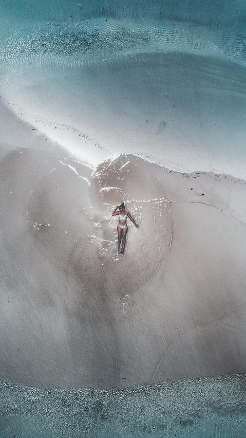 Seychelles Photograph - Seychelles - Mermaid by Jean Claude Castor