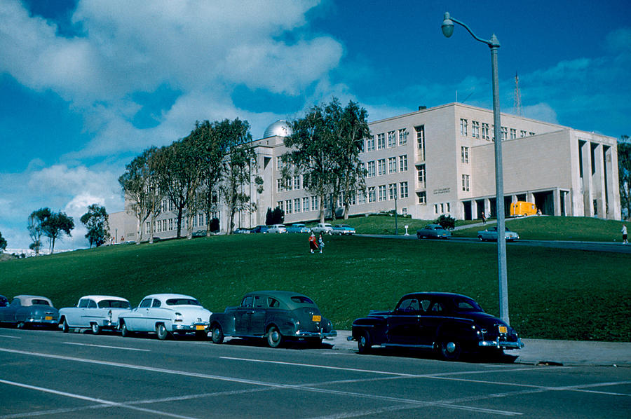 San Francisco Photograph - Sf City College 1956  2 by Cumberland Warden