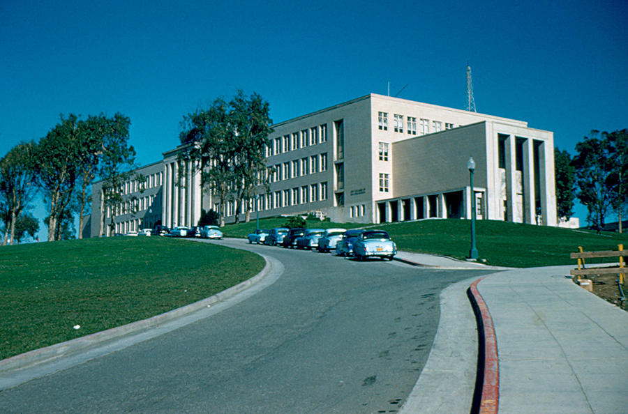 San Francisco Photograph - Sf City College 1956 by Cumberland Warden