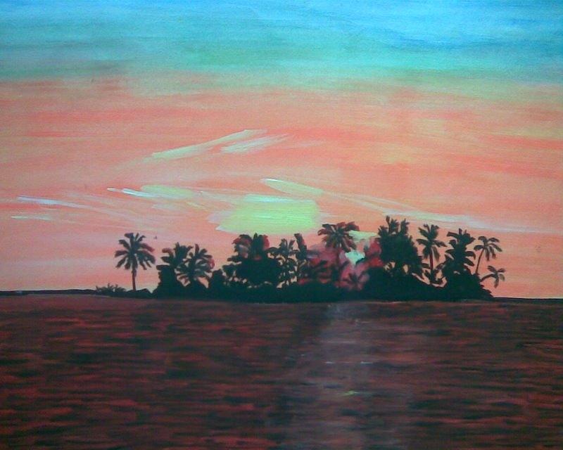 Shaamosam Painting by Vikash Kumar