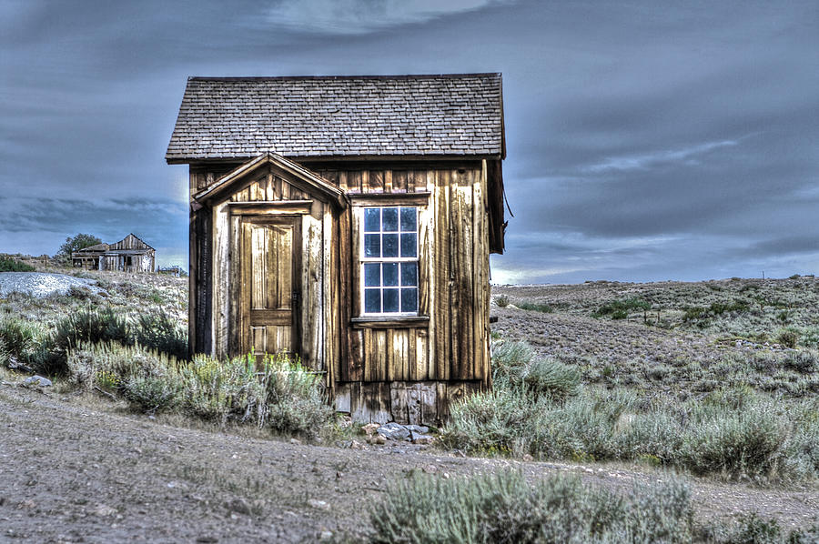 Bodie Photograph - Shack At Bodie by SC Heffner