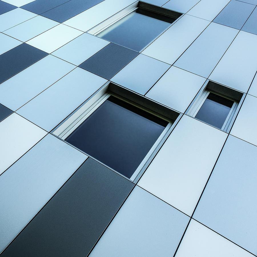 Window Photograph - Shades Of Blue by Luc Vangindertael (lagrange)