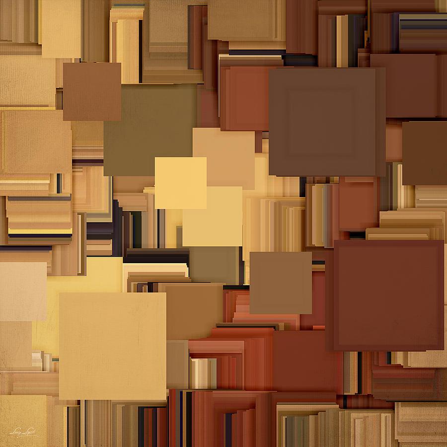 Brown Digital Art - Shades Of Brown by Lourry Legarde
