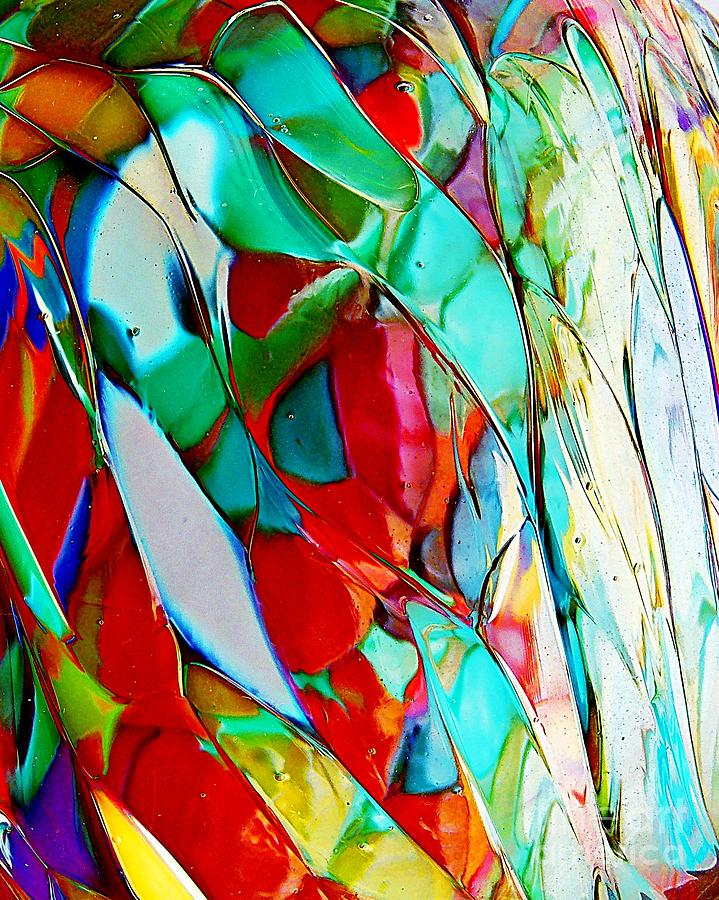Abstract Photograph - Shades Of Excitement by Marcia Lee Jones