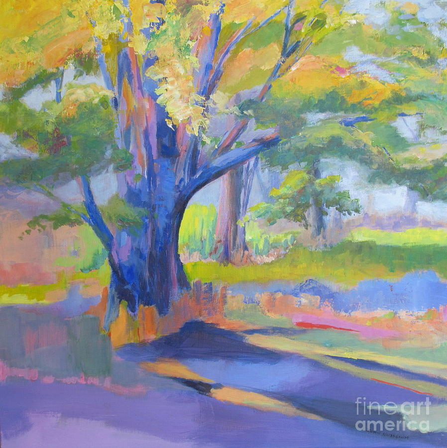 Landscape Painting - Shades Of Light by John Nussbaum