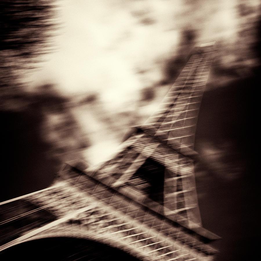 Eiffel Tower Photograph - Shades Of Paris by Dave Bowman