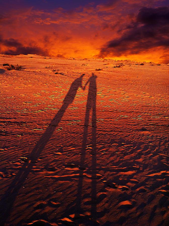 Love Photograph - Shadow  by Gray  Artus