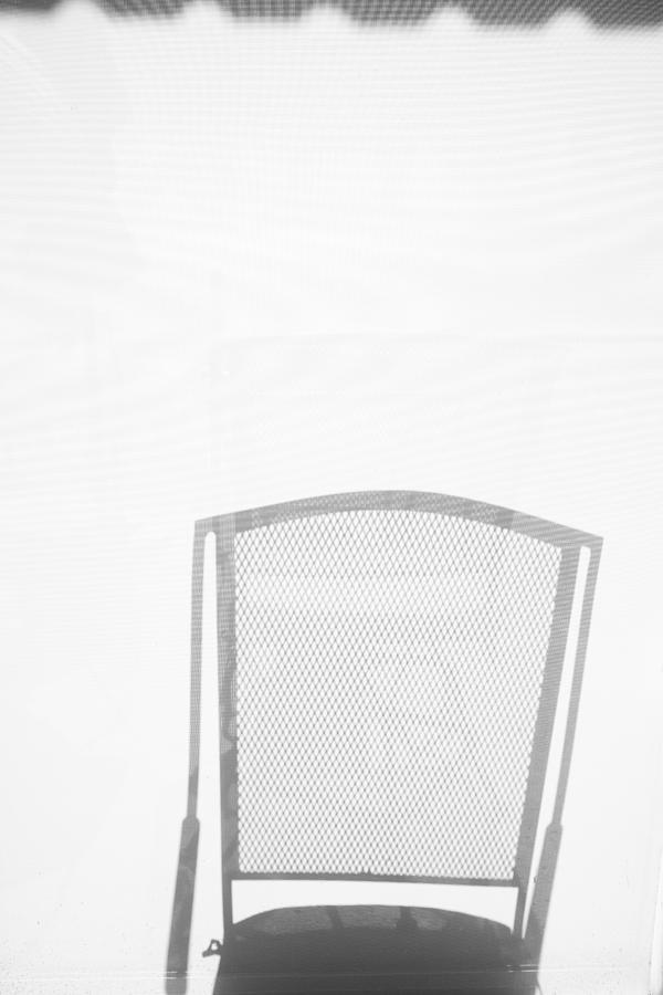 Chair Photograph - Shadow  by Hugh Smith