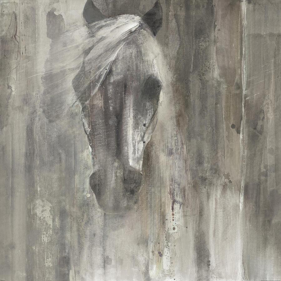 Abstract Painting - Shadow Light by Albena Hristova