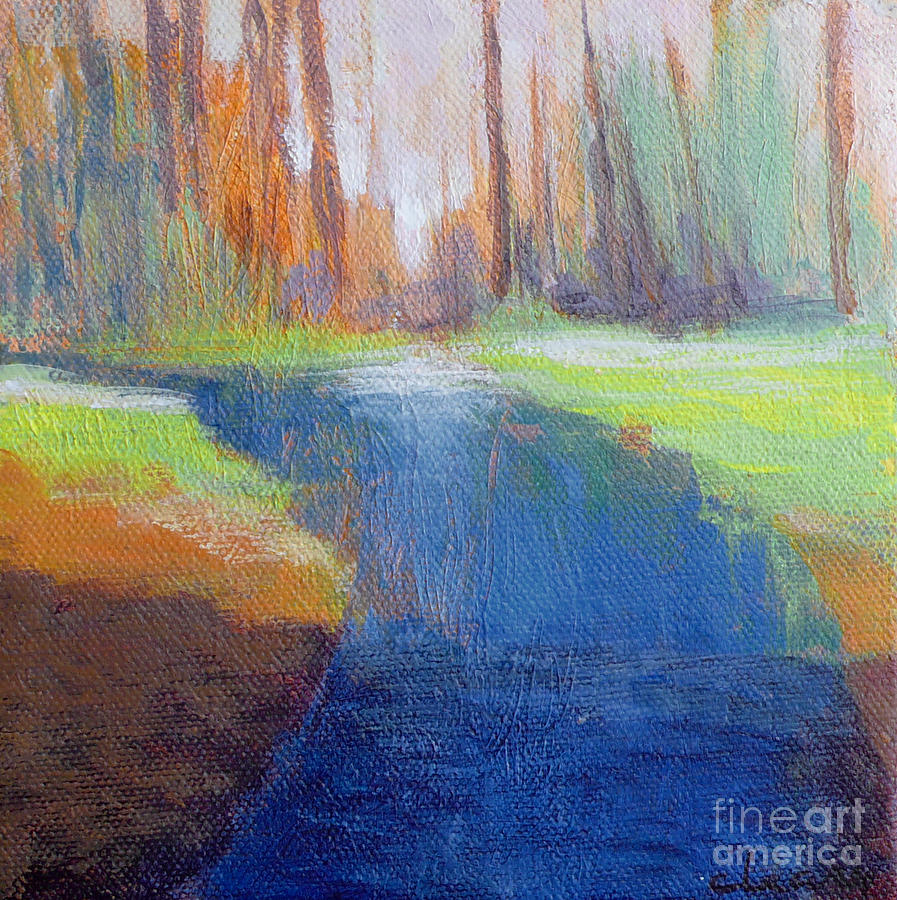 Landscape Painting - Shadow by Melody Cleary