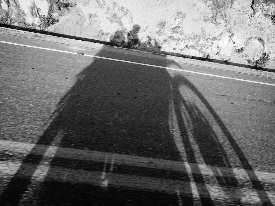 Motorcycle Photograph - Shadow Of Adventure by Tyler Lucas