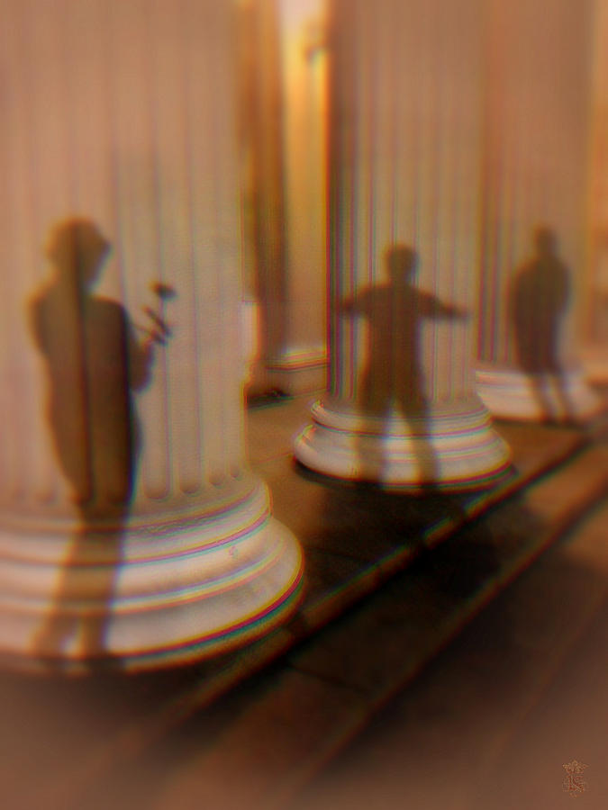 Avantgarde Photograph - Shadow Play by Li   van Saathoff