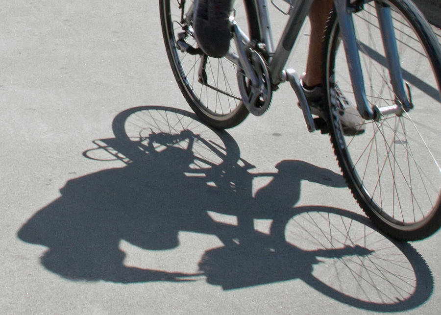 Shadow Photograph - Shadow Rider by Susan OBrien