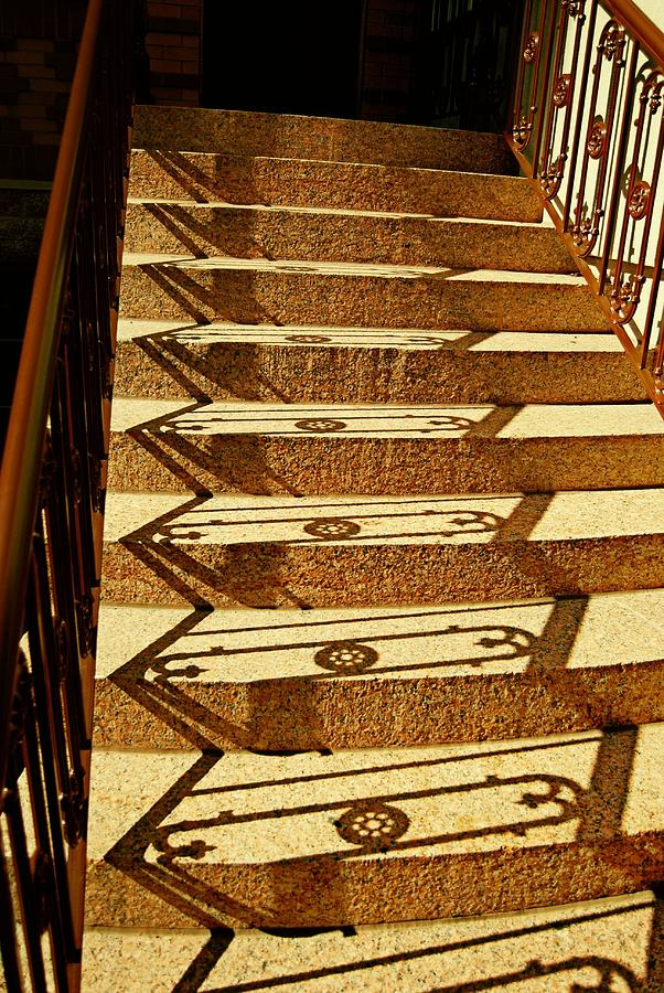 Jersey Photograph - Shadow Steps by JAMART Photography