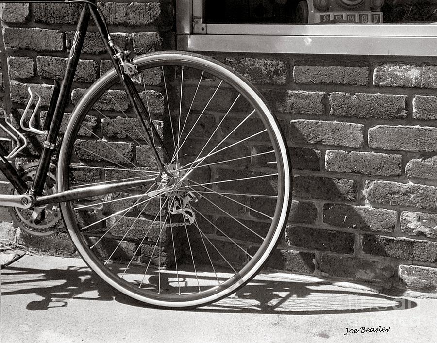 Bicycle Photograph - Shadow Wheel by   Joe Beasley