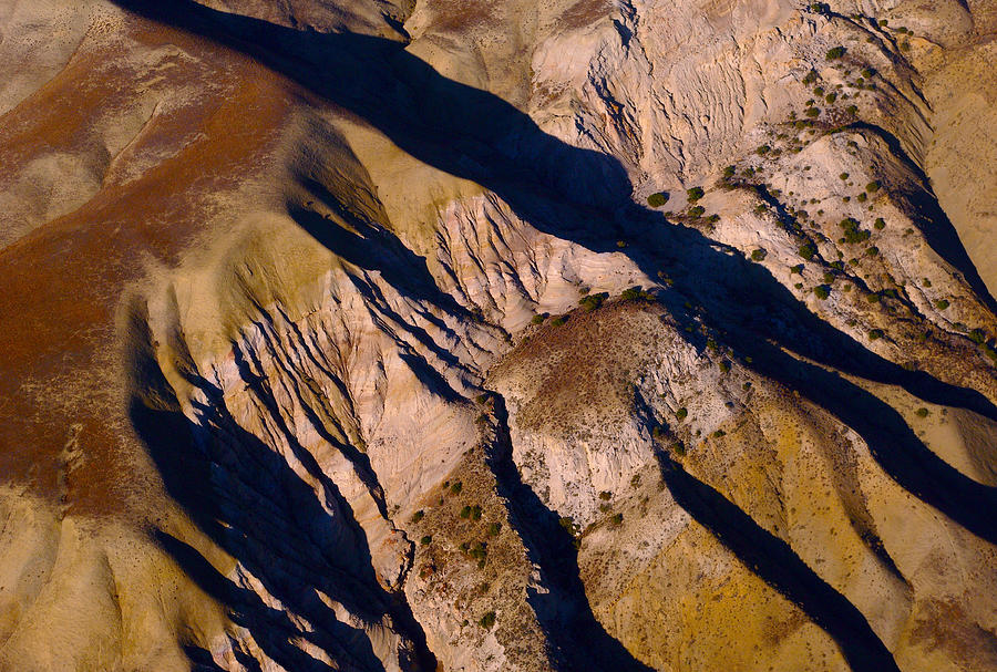 Landscape Photograph - Shadows 1 by Sylvan Adams